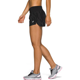 asics Night Track Shorts Dames, night track black aop